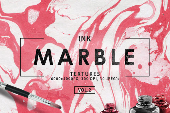Print on Demand: Multicolor Marble Ink Backgrounds Vol. 2 Graphic Backgrounds By ArtistMef