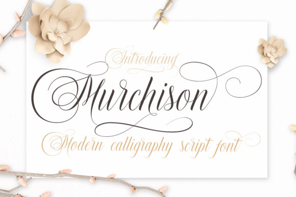 Murchison Script & Handwritten Font By Stripes Studio
