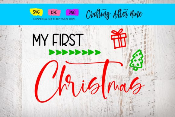 Print on Demand: My First Christmas Graphic Crafts By Crafting After Nine