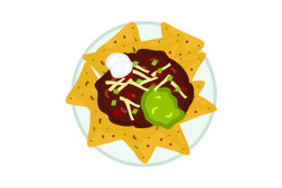 Nachos Food & Drinks Craft Cut File By Creative Fabrica Crafts
