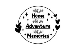 New Home New Adventure New Memories Craft Design By Creative Fabrica Crafts