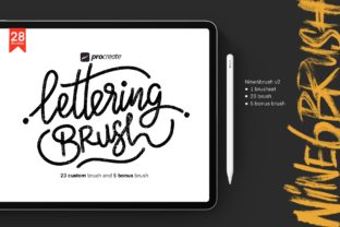 Print on Demand: Nine6brush V2 Graphic Brushes By DK Project