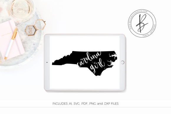Print on Demand: North Carolina Girl Graphic Crafts By BeckMcCormick