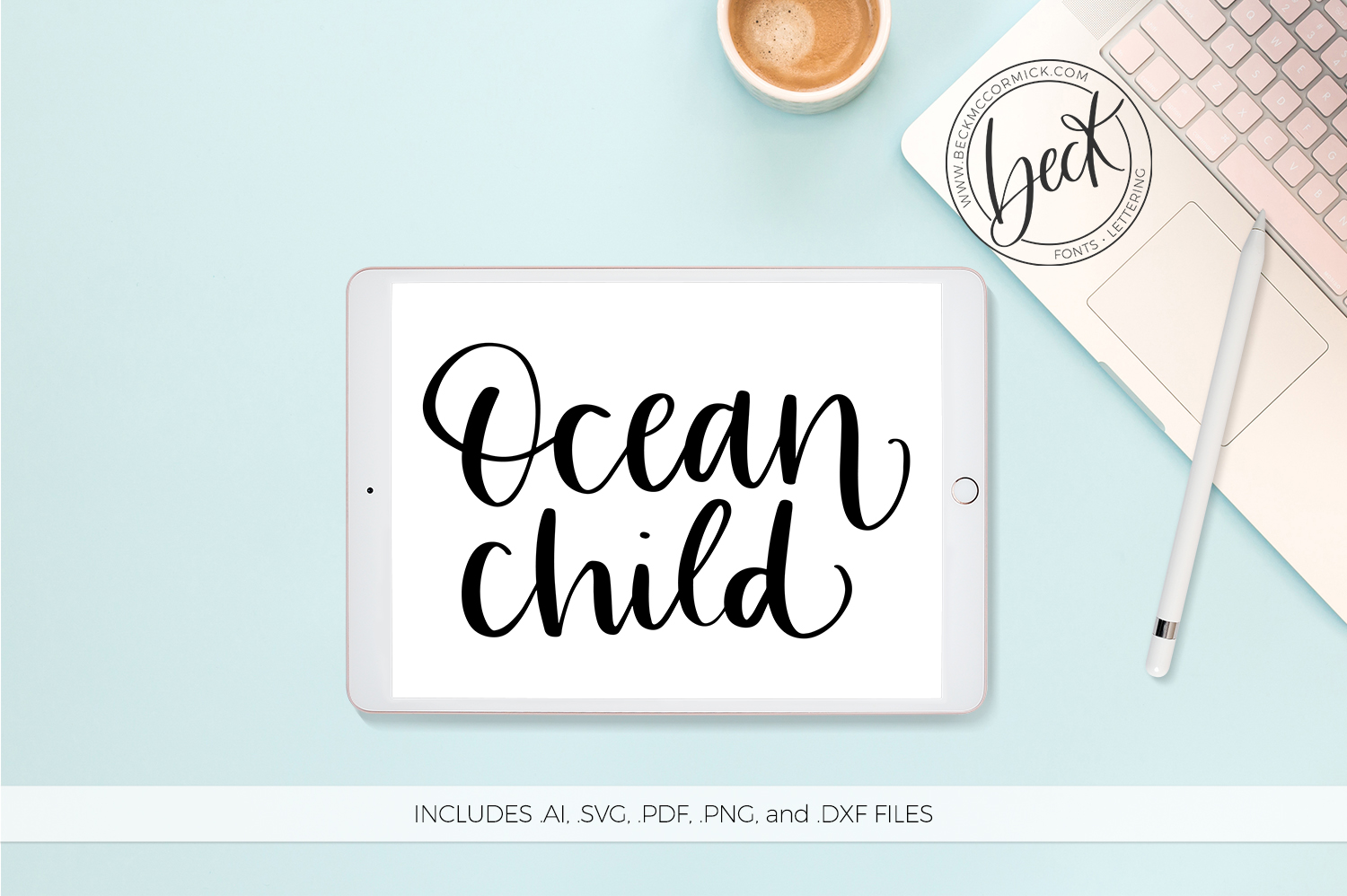 Download Free Ocean Child Graphic By Beckmccormick Creative Fabrica for Cricut Explore, Silhouette and other cutting machines.