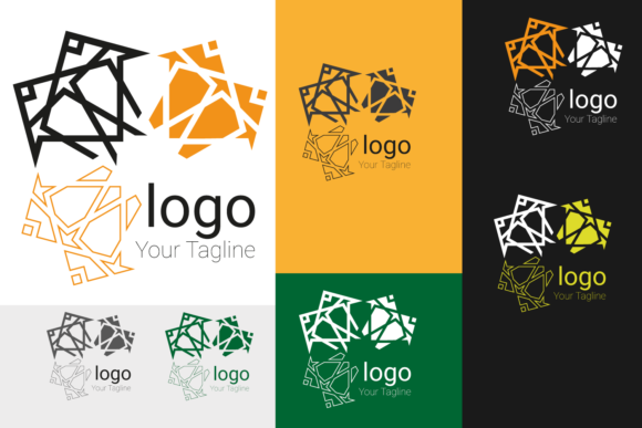 Print on Demand: Octagonal Logo Graphic Logos By Cititype
