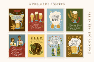 Print on Demand: Octoberfest Graphic Bundle Graphic Illustrations By Red Ink 4