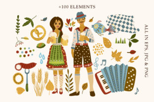Print on Demand: Octoberfest Graphic Bundle Graphic Illustrations By Red Ink 7