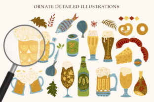 Print on Demand: Octoberfest Graphic Bundle Graphic Illustrations By Red Ink 8