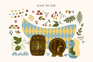 Print on Demand: Octoberfest Graphic Bundle Graphic Illustrations By Red Ink 9
