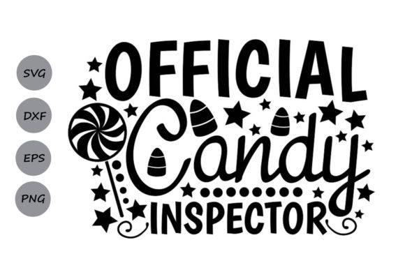 Official Candy Inspector Svg