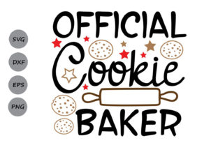 Download Free Official Cookie Baker Graphic By Cosmosfineart Creative Fabrica for Cricut Explore, Silhouette and other cutting machines.