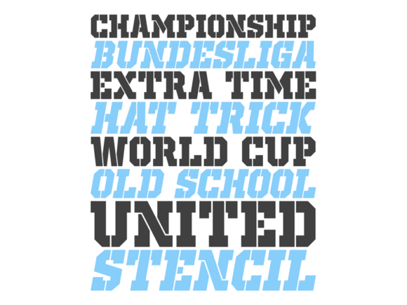 Print on Demand: Old School United Display Font By contact136 - Image 4