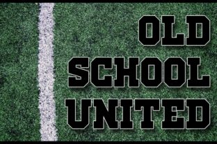 Old School United Display Font By contact136