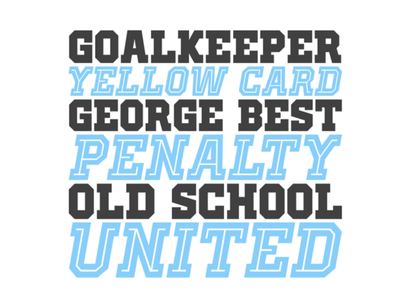 Print on Demand: Old School United Display Font By contact136 - Image 3