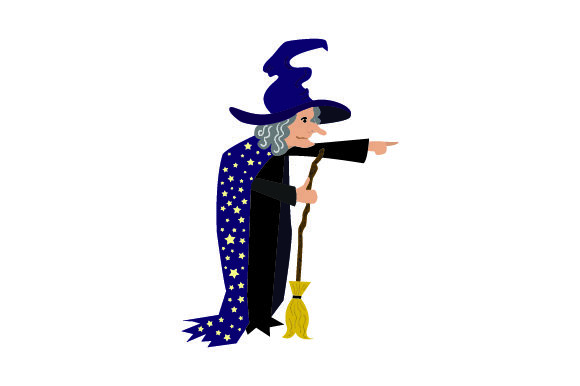 Download Free Old Witch Halloween Svg Cut File By Creative Fabrica Crafts for Cricut Explore, Silhouette and other cutting machines.