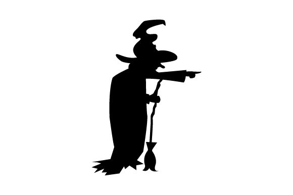 Old Witch Halloween Svg Cut File By Creative Fabrica Crafts
