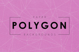 Paper Polygon Backgrounds Graphic By ArtistMef