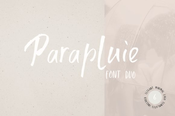 Print on Demand: Parapluie Duo Display Font By Primafox Design