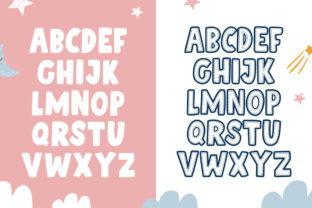 Print on Demand: Patchwork Duo Display Font By Salt and Pepper Fonts 5