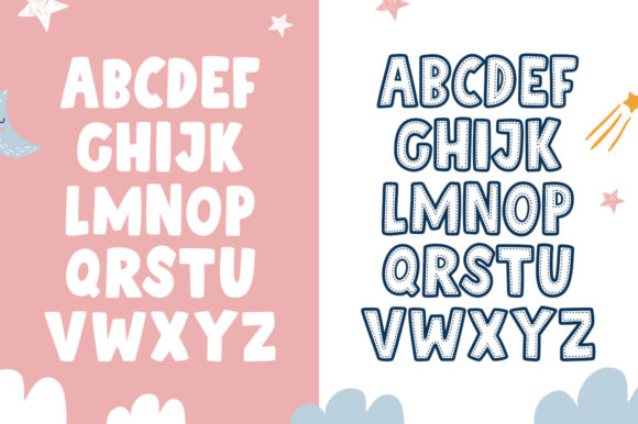 Patchwork Duo Font Preview