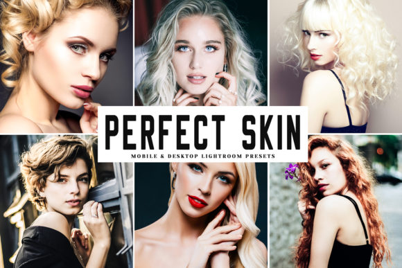 Print on Demand: Perfect Skin Lightroom Presets Graphic Actions & Presets By Creative Tacos - Image 1