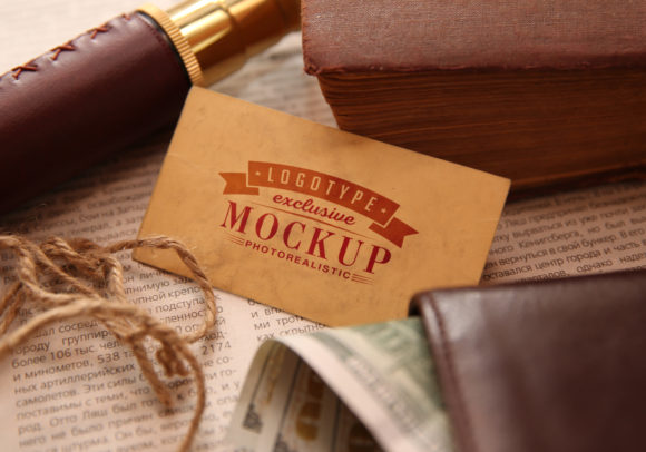 Print on Demand: Photo Realistic Mock-ups Set of 5 V1 Graphic Product Mockups By bywahtung - Image 3
