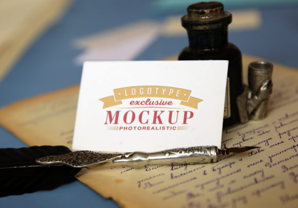 Print on Demand: Photo Realistic Mock-ups Set of 5 V1 Graphic Product Mockups By bywahtung - Image 5