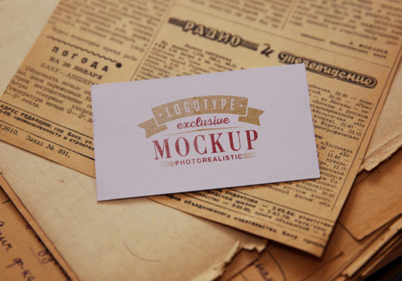 Print on Demand: Photo Realistic Mock-ups Set of 5 V1 Graphic Product Mockups By bywahtung - Image 6