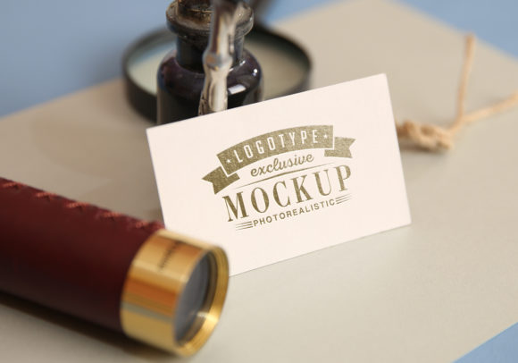 Print on Demand: Photo Realistic Mock-ups Set of 5 V4 Graphic Product Mockups By bywahtung - Image 6