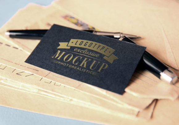 Print on Demand: Photo Realistic Mock-ups Set of 5 V5 Graphic Product Mockups By bywahtung - Image 4