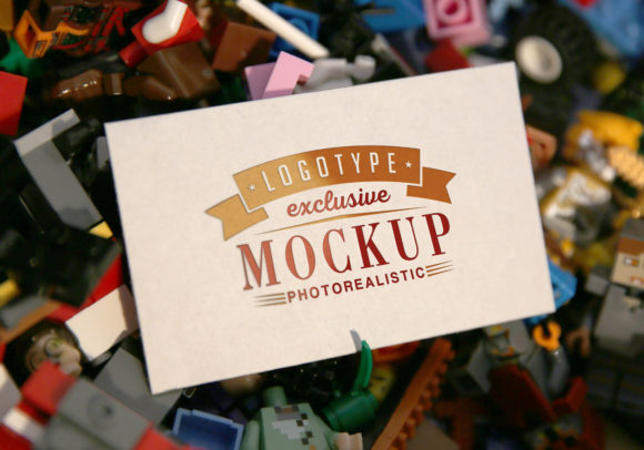 Photo Realistic Mock-ups Set of 5 Graphic Image