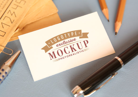 Photo Realistic Mock-ups Set of 5 Graphic Item