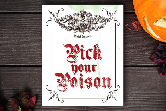Pick Your Poison Graphic Crafts By danieladoychinovashop - Image 2