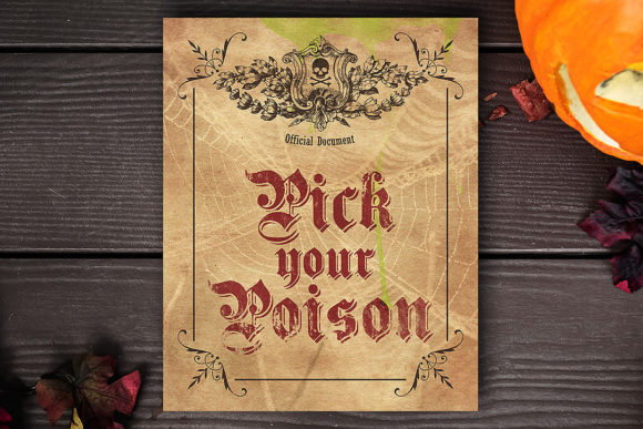 Pick Your Poison Graphic Crafts By danieladoychinovashop - Image 1