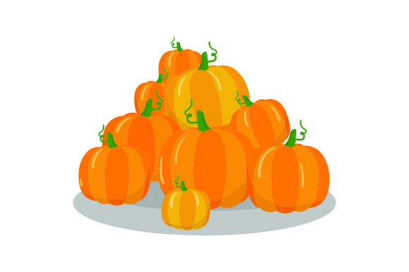 Download Free Pile Of Pumpkins Thanksgiving Svg Cut File By Creative Fabrica for Cricut Explore, Silhouette and other cutting machines.