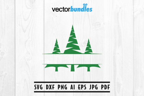 Download Free Pine Tree Clip Art Svg Graphic By Vectorbundles Creative Fabrica for Cricut Explore, Silhouette and other cutting machines.