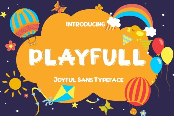 Print on Demand: Playfull Display Font By CreatypeStudio