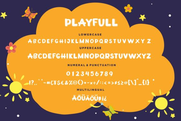 Print on Demand: Playfull Display Font By CreatypeStudio - Image 7
