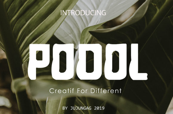 Print on Demand: Podol Sans Serif Font By Gens Creatif Store