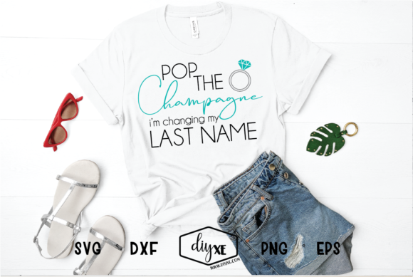 Pop the Champagne Graphic By Sheryl Holst