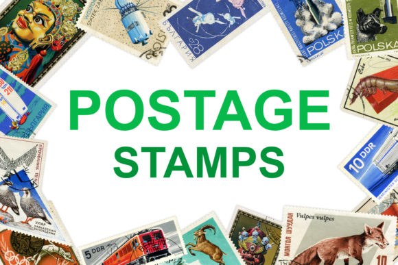 Postage Stamps Vol.1 Graphic By freezerondigital