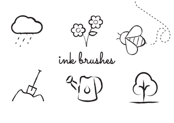 Download Free Procreate Ink Brushes Graphic By Bene Creative Fabrica SVG Cut Files