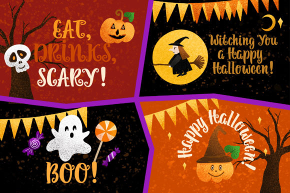 Print on Demand: Pumpkin Helloween Script & Handwritten Font By Caoca Studios - Image 2