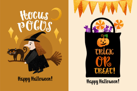 Print on Demand: Pumpkin Helloween Script & Handwritten Font By Caoca Studios - Image 3