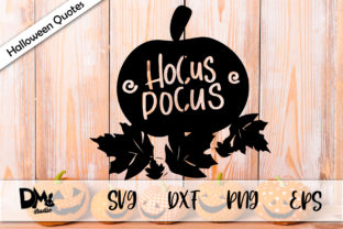 Download Free Pumpkin Hocus Pocus Halloween Quotes Graphic By Sharon for Cricut Explore, Silhouette and other cutting machines.