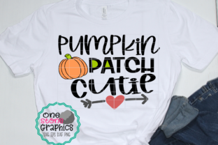 Pumpkin Patch Cutie Graphic By OneStoneGraphics