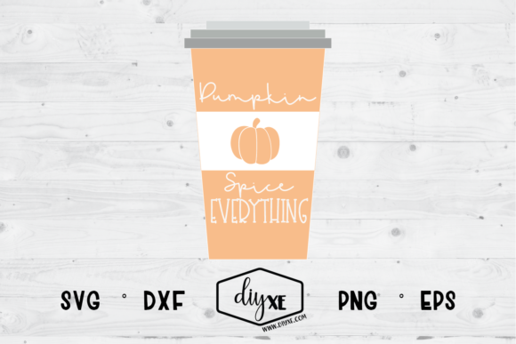 Pumpkin Spice Everything Graphic By Sheryl Holst