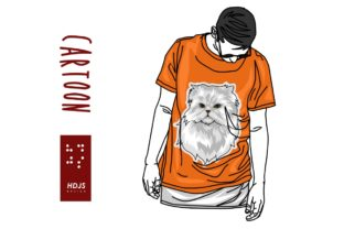 Putih Cat Graphic By Hdjs.design
