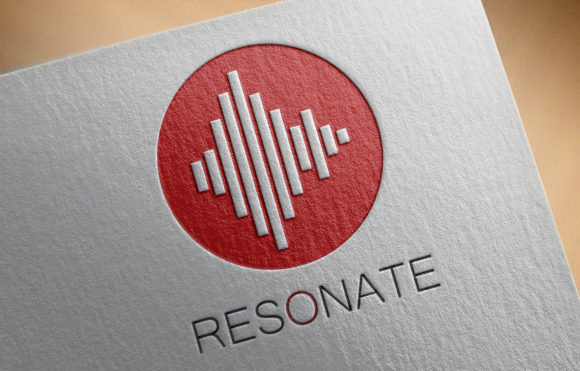 Print on Demand: RESONANCE Logo Template Graphic Logos By denestudios