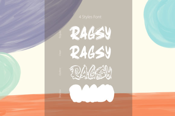 Ragsy Display Font By DK Project